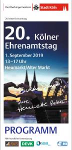Flyer Ehrenamtstag Köln 2019